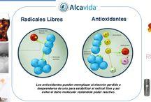 Radicales Libres como frenarlos. / Los iones hidróxido del agua alcalina ionizada son un extraordinario antioxidante que combate los radicales libres