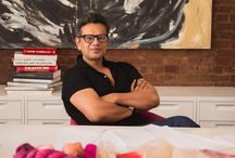 # Artist - Naeem Khan / Naeem Khan  (born May 21, 1958)  is an Indian-American fashion designer based in New York.Born and raised in Mumbai, Khan grew up in a world surrounded by culture, architecture, art, history and design. As a boy, he cultivated a vast knowledge of textiles under the watchful eyes of his grandfather and father, both of whom designed intricate clothing worn by Indian royal families