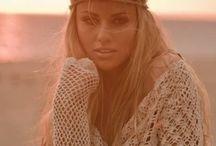 hippie girl  / by Kim Brewer Hood
