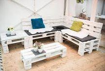 schöne Möbel aus Europaletten