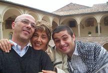Fabrizio Catalano con i genitori / Fabrizio Catalano è scomparso da Assisi a Luglio 2005 ----- Fabrizio Catalano is missing since July 2005