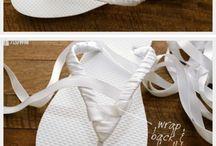 sandalen versieren