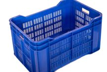 Drums And Crates / Plastic Crates, Storage Drums