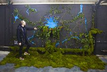 """Install """"Broken Wall"""" / Installation in Paris for exhibition """"Experiences Art Fair"""" When nature takes its course!"""