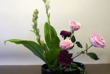 Ikebana art floral