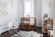 Habitaciones de bebé/cuna cerezo