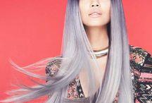 50 nuances de gris - 50ty shades of grey / Toutes les inspirations sur la tendance coloration grise / All about Grey hair color