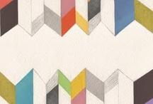 gambar geometris modern