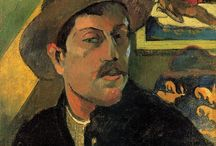 Paul Gauguin (1848 – 1903) / Eugène Henri Paul Gauguin was a French post-Impressionist artist.Underappreciated until after his death.Gauguin is now recognized for his experimental use of color and synthetist style that were distinctly different from Impressionism
