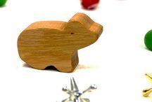 Australian Animal Wood Toys