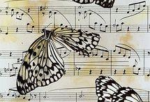 Müzik Notalı Resimler