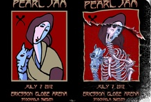 Rock Posters  / Concert Posters from the Artists I love  / by Robb Prohaska