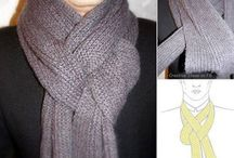Como usar las bufandas