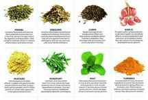 herbs and spices healing wonders...