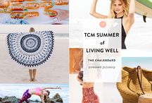 TCM Living Well Summer / TCM's guide to living well... summertime style! Check out recipes, looks, and ideas to live well + glow all summer long. / by The Chalkboard Mag