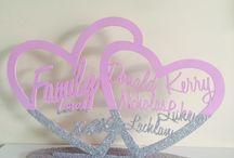 Family Name Frames / Family Name Frames custom designed at Urban Fairytale