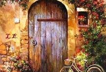 kapı bisiklet