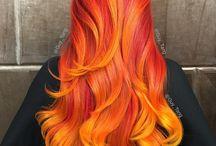Feuer Haar