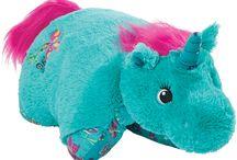 Pillow Pets (new unicorns and dinosaurs!)