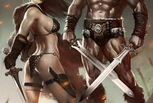 Conan & Red Sonja