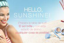 Hello, sunshine! / Edición limitada. Primavera-verano 2014. Mary Kay.