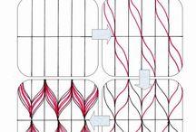 zentangle basics / tangles, strings, zentangles... the basics