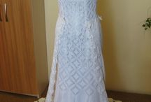 vestido noiva crochê