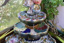 Mosaic Art in the Garden