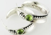 August Birthstone - Peridot / August babies, your birthstone is peridot! Celebrate with this beautiful green gemstone in earrings, rings, necklaces, bracelets and more!