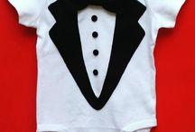martín corbatín / Decoracion y personalizacion de prendas para niños...