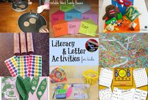 kids-books and activities / by Karrie Creason