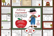 All about Johnny Appleseed / by Cyndy Raper-Henderson