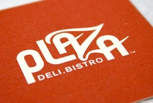 Plaza Deli Bistro / Plaza Deli Bistro // logo design, brand identity, stationery, signage. food packaging