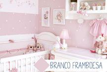 quartos de bebe feminino