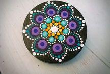 Mandalas stone
