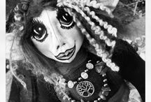 Art Dolls by SesGee / Handcrafted art dolls by SesGee