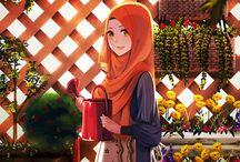 anime hijab