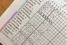 Bullet Journalling/Habit Tracking