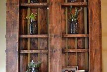 Scrap wood furniture / by Jana Holland