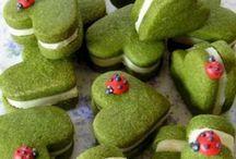Matcha/green tea desserts