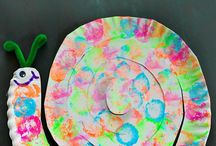 Paper plates - children activities