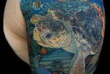 Ocean tattoo / by Melisa Schlosser