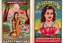 Indian Matchbox Art / indian matchbox art