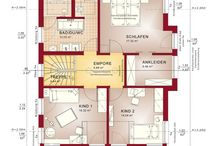 Häuser/ Grundrisse