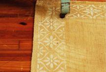 Stenciled Furniture | Stenciled Floors & Walls