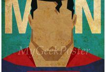 Patricia . Cuadros superheroes .