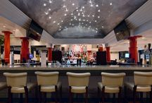 Hip Restaurant Design by Keith Baltimore, Baltimore Design Group / Union Steak & Sushi, Great Neck, New York