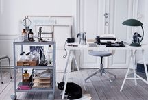 Arbetsrum / Skrivbordet...