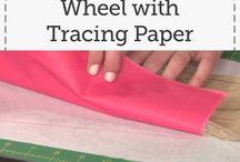 Use tracing paper