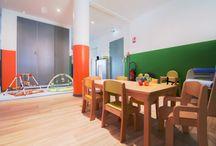 architecture intérieure (architecture en alsace) / micro crèche pour enfants, photographies d'intérieur réalisées en Alsace à Sélestat).